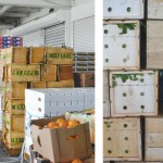 The market distributes produce to an estimated 23 million people.