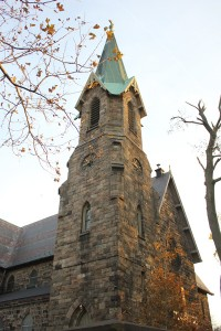 St. Peter's Episcopalian Church on Westchester Avenue is rich with history.