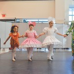 Some of the NYBT ballet dancers start training as early as age 4.