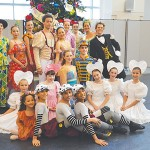 The smiling dancers of New York Theatre Ballet.