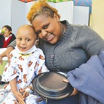 """""""I'm going to have to take him to another show soon,"""" laughed Jeyron's mother Geraldine Paredes."""
