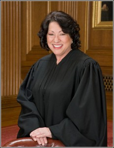 Bronx native and Supreme Court Justice Sonia Sotomayor administered the oath of office to Vice President Joseph Biden at the presidential inauguration.