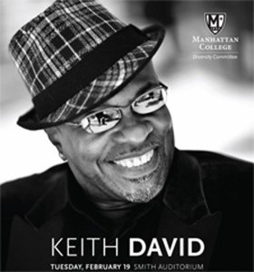 Emmy Award winner Keith David will perform at Manhattan College in celebration of Black History Month.