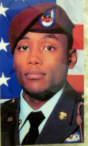 Paratrooper Ricky Lee Russell, whose death hit Morgan hard.