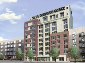 The Creston Avenue Residence will stand 10 stories high and provide housing to 66 families of high-need Medicaid clients, disables veterans, and low-income individuals.