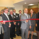 Inducted with a ribbon-cutting ceremony, the new comprehensive family practice center at Via Verde is Montefiore's first primary care site in a decade. Photo: Montefiore Medical Group