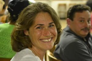 """""""Hemos pasado horas y horas en el sendero Putnam como una familia"""", relató Sarah Baglio, que está en contra de la pavimentación."""