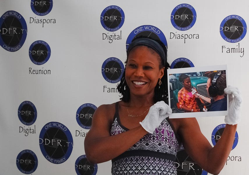Majora Carter brought personal photos.