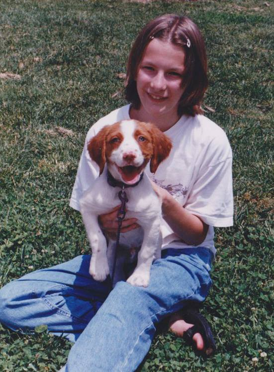 The author has cared for Tuck since middle school. Photos: Anne Ducey