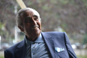 The park now falls within Congressman Charles B. Rangel's reconfigured district.