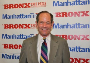 """""""Politics for me is not a profession; it's a cause,"""" says former New York State Governor, and candidate for City Comptroller, Eliot Spitzer."""