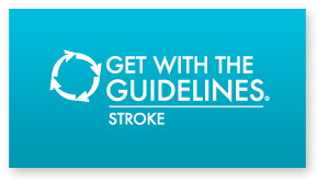 Get With the Guidelines–Stroke helps hospital's develop and implement acute and secondary prevention guideline processes to improve patient care and outcomes