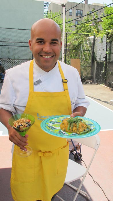 """People are learning more,"" said Chef Piñeiro."