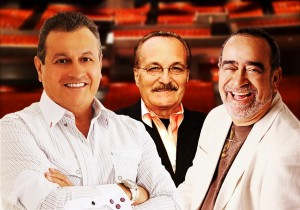 """""""We share a special magic,"""" he says of fellow salsa stars Paquito Rivera and Andy Montañéz."""