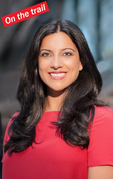 """I have built something,"" said Girls Who Code founder and Public Advocate candidate Reshma Saujani. Photo: Saujani Campaign"