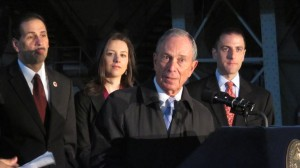"""The road wasn't easy,"" said Mayor Michael Bloomberg."