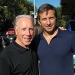 """""""The community needs to get involved,"""" said The Ironwill Foundation's CEO Gary Salmirs (right) with Ronnie Aroesty."""