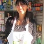 Nutrition Specialist Julieta Velasco made 180 smoothies.