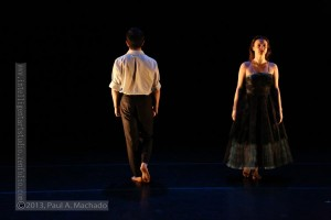 """It's different elements that represent home,"" explains choreographer Edgar Cortés of new work SOL-I-DÓ. Photo: Paul Machado"