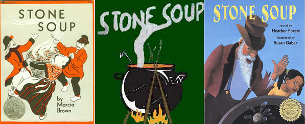 There have been many versions of the classic folk tale Stone Soup.