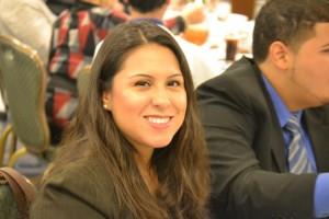 """It's a great opportunity,"" said CUNY student Carolina Martínez. Photo: R. Kilmer"