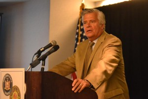 Majority Leader and Senator Dean Skelos was one of the organizers. <br><i>Photo: R. Kilmer </i>