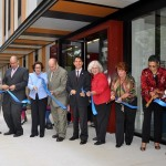 The ribbon-cutting ceremony of the Center was celebrated a year after the ground-breaking.Photo: QPHOTONYC