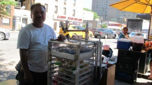"""Business goes up and down,"" explained street vendor Alejandro Nino."