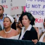 La Marcha de Novias en contra de la violencia domestica es un evento anual. Foto: C. Chen