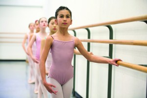 The School of American Ballet is holding community auditions in the Bronx. Photo: Rosalie O'Connor
