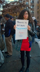 """""""We want to raise awareness on this issue,"""" said Yanilda González."""