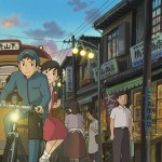 A scene from From Up on Poppy Hill, which includes the voices of Jamie Lee Curtis, Christina Hendricks, and Ron Howard.