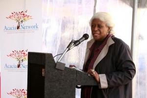 Deputy Borough President Aurelia Greene.