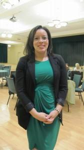 Kelly Alvarado is part of ManhattanCollege's Diversity Committee, which helped organize Pineiro's visit.