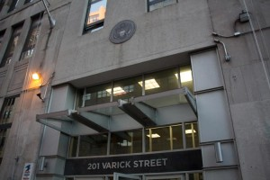 The new program will offer legal aid to about 190 people of the approximately 900 immigrants at the Varick Street Immigration Court.  Photo: Center for Popular Democracy