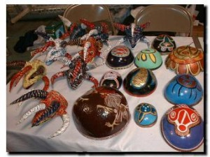 Puerto Rican crafts will be exhibited at the Hostos Center for the Arts and Culture.