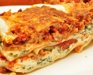 Making lasagna allows for creativity – and nutrition.