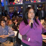 "Bronx Community College student Ninozca Nuñez student called the event ""inspirational."""