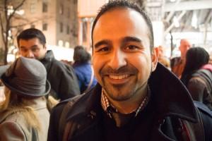 """""""Queremos respeto para nuestras familias, para nuestras comunidades"""", dijo Jorge Ochoa."""