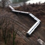 A Metro-North train derailment in the Bronx killed four people and injured over seventy. Photo: A. Cano