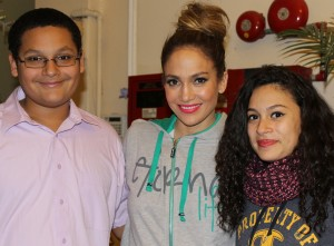 Superstar and Bronx native Jennifer Lopez returned to the borough to film a new music video.
