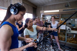 Lehman students were responsible for all aspects of production for the video series(web)