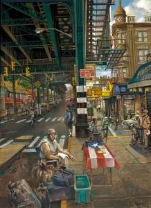 <i>Under Burnside Station</i> by Daniel Hauben.