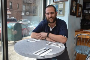 """""""We try to keep a healthy menu,"""" said Thomas Larous, whose father, Steve, opened V.I.P Café in 1997."""