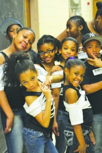 Dancers from PS 64 competed for funds for their after-school programs.