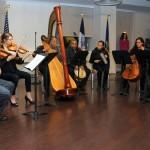 Guests enjoyed live performances. Photo: QPHOTONYC