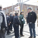 Nine members of South Bronx Unite were arrested.
