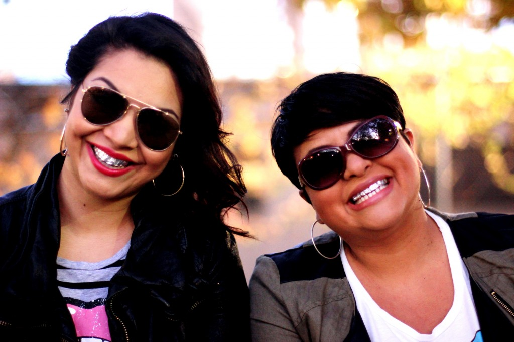 """We want everyone to laugh,"" say The Comedy Girls, comprised of Latina comedians Jesenia (left) and Jenni Ruiza."
