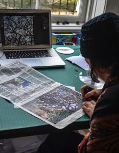 Winter Workspace Session 2 Artist Shanti Grumbine