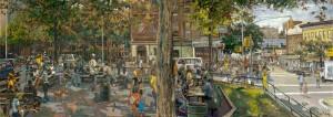<i>Burnside Park</i> by Daniel Hauben.
